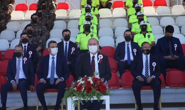 İçişleri Bakanı Soylu, Polis Akademisi Malatya POMEM 26. Dönem Mezuniyet Töreni'nde konuştu: (2)
