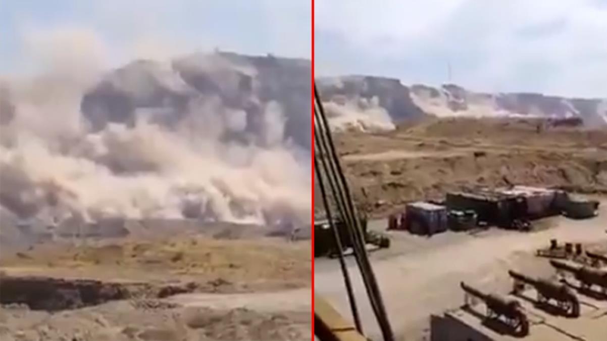 İran'da nükleer tesisin olduğu şehir 5.9 büyüklüğündeki depremle sarsıldı! Dağlardan duman çıktı