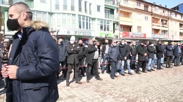 Karadağ'daki Boşnak Partisi Genel Başkanı Husovic son yolculuğuna uğurlandı