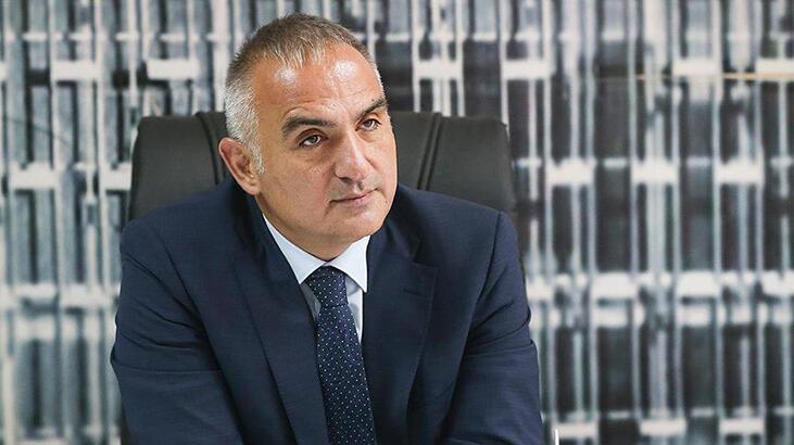 Kültür ve Turizm Bakanı Mehmet Nuri Ersoy,Arnavutluk'ta: