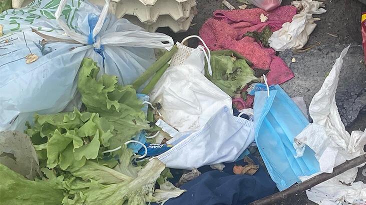Maltepe'deki çöpler için tıbbi atık uyarısı