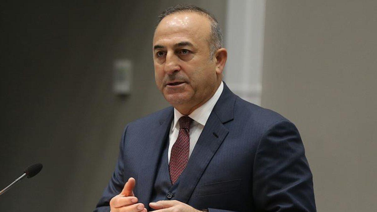 Çavuşoğlu,Kosova Kalkınma Bakanı Damka ile telefonda görüştü