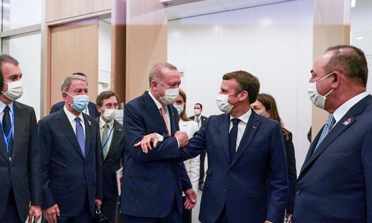 NATO Zirvesi'ndeki liderlerin beden dili analizi! En ilginç yorum Erdoğan – Macron buluşmasına yapıldı