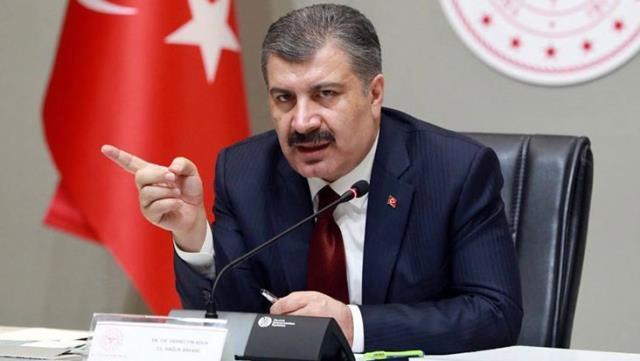 Sağlık Bakanı Koca, illerin haftalık vaka sayılarını paylaştı