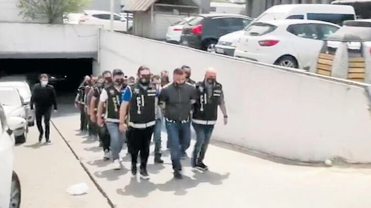 Saral Makedonya'da yakalanıp getirildi