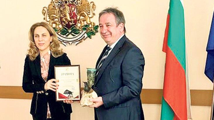 Şişecam'a Bulgaristan'dan ödül