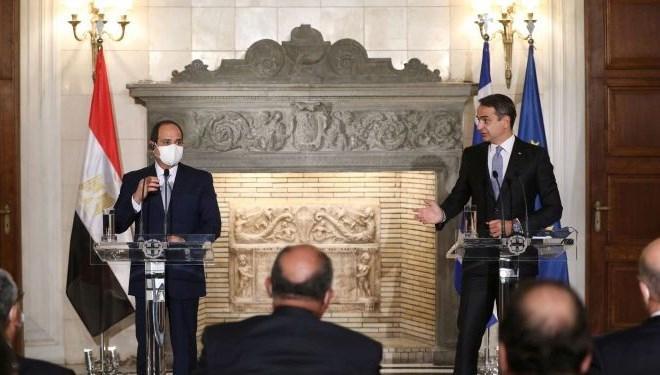 Sisi ve Miçotakis 'Doğu Akdeniz'i görüştü