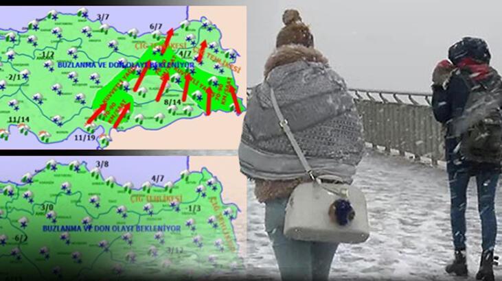 Son dakika… İşte son hava durumu tahmini! İstanbul dahil ülkenin tamamında görülecek