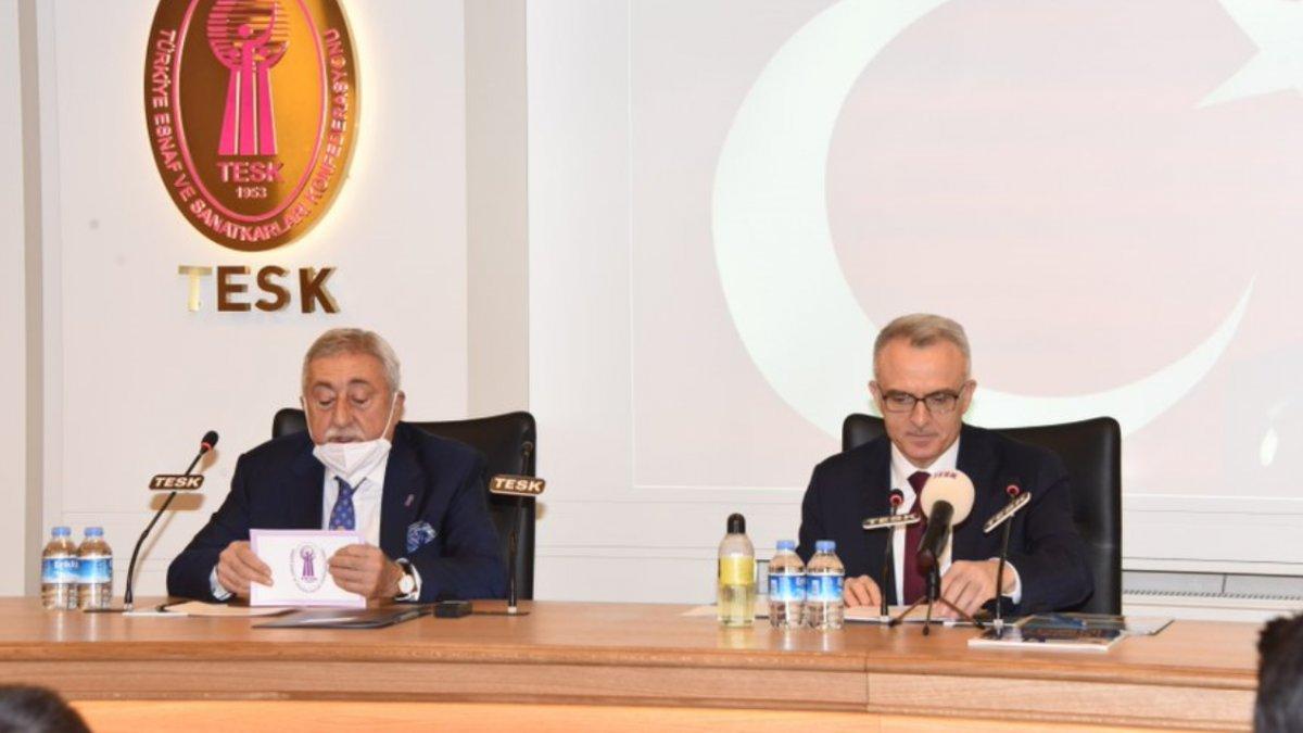TCMB Başkanı Naci Ağbal iş dünyası temsilcilerini ziyaret etti