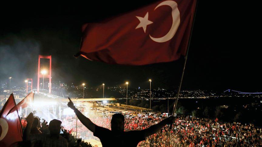 Balkanlar'da 15 Temmuz Demokrasi ve Milli Birlik Günü