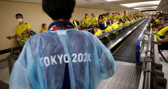 Tokyo Olimpiyatları'na akredite kişilerden Kovid-19'a yakalananların sayısı 123'e çıktı