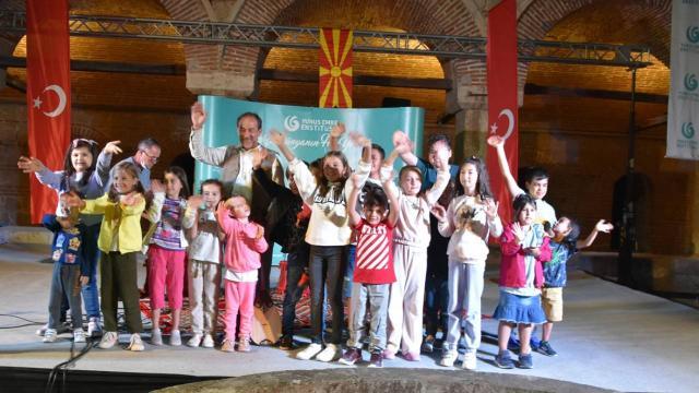 """Yunus Emre Enstitüsü, """"Selam Olsun"""" projesinin dördüncü durağı Üsküp'te etkinlikler düzenledi"""
