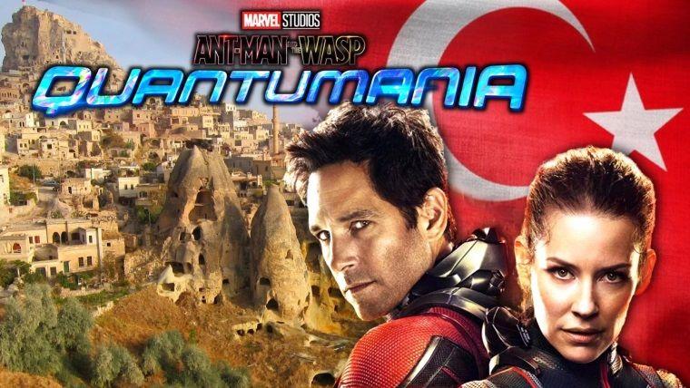Yeni Ant-Man filminin çekimleri Kapadokya'da başladı