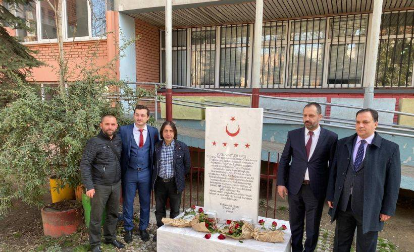 Yücel Şehitlikleri Bakan Pakdemirli'nin katılımıyla açıldı