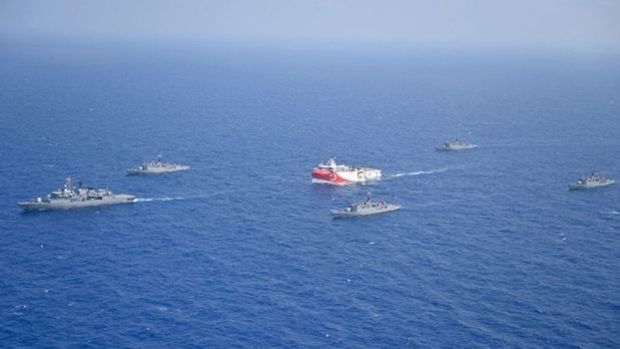 """Türkiye'den İsrail,Yunanistanve AB'ye """"Doğu Akdeniz"""" notası"""