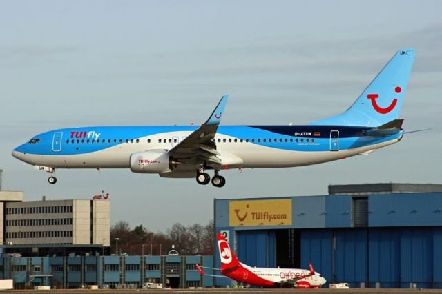Самолет авиакомпании TUIfly. Фото: Exyuaviation.com