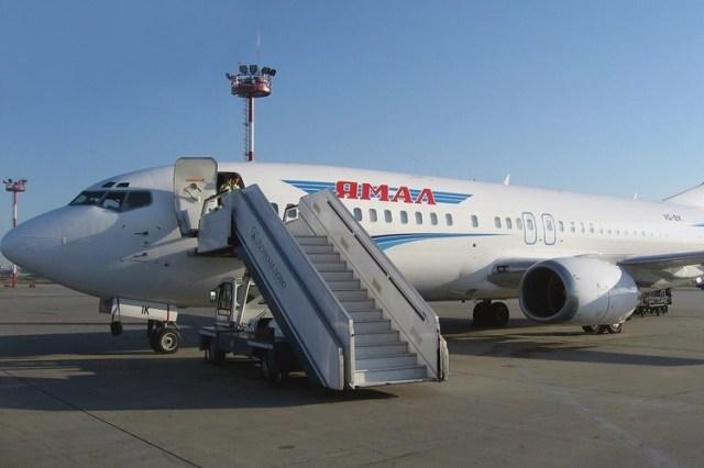 Самолет авиакомпании «Ямал». Фото: Yamalpro.ru