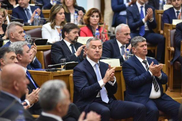 Заседание Скупщины Черногории 28 апреля 2017 года. Фото: Cdm.me, Vedran Ilić