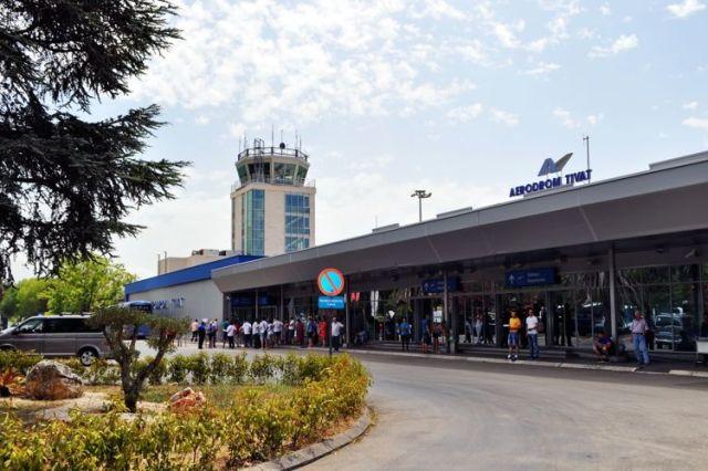 Аэропорт Тиват. Фото: Bokanews.me