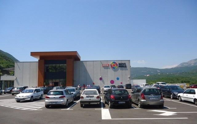 Торговый комплекс HDL Novi Mall. Фото: Radiohercegnovi.net