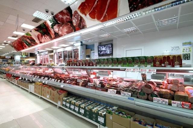 Супермаркет в Черногории. Фото: Megapromet.me