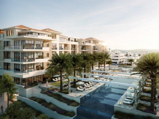 Проект комплекса Regent Pool Club Residences в Тивате. Фото: Porto Montenegro