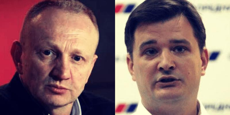Đilas: Vlast će pasti brže nego 2.000-te; Jovanov: Đilasov putujući cirkus poziva na haos i krvoproliće