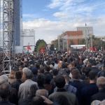 Održan protest u Prištini protiv Hašima Tačija