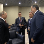 Dodik stigao u Soči, sutra susret s Putinom