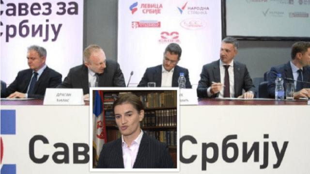 Savez za Srbiju: Brnabić je jeftin potparol SNS-a u Ujedinjenim nacijama