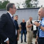 Policija Kosova zaustavila Vučića, nije uspeo da prođe ka Banjama, vraća se za Kosovsku Mitrovicu alternativnim putem