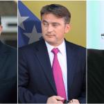 Pobedu nose Dodik, Komšić i Džaferović