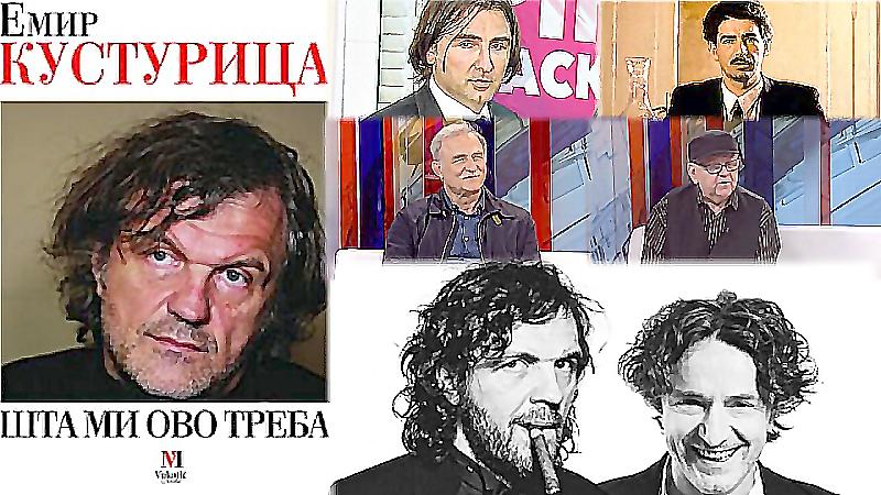 Kusturica o Bregoviću, Sidranu, Ristovskom, Manojloviću, TV Pink, Maradoni...