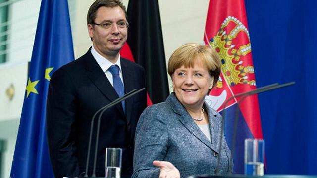 Bajer preneo poruku Angele Merkel: Bez priznanja Kosova nema Evropske unije