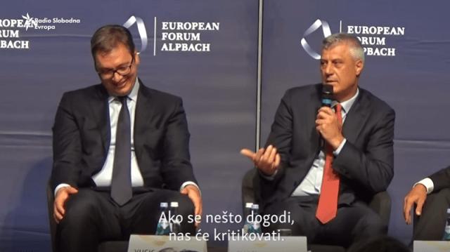 Plan Vučića i Tačija nije plan nego ponuda dila, po kojoj će njih dvojica nastaviti da budu miljenici Berlinskog procesa i odlazeće Angele Merkel