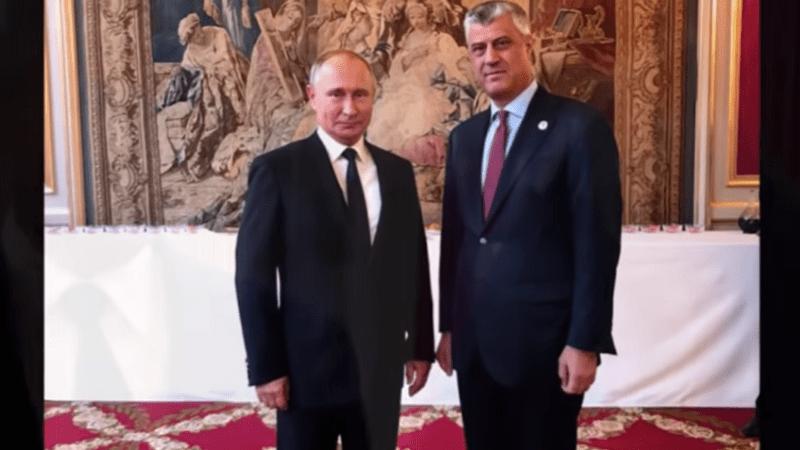 """Kremlj o susretu Putina i Tačija: """"To nije bio klasičan sastanak. To je bio razgovor na marginama događaja."""""""