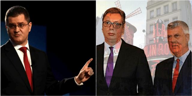 Jeremić: Učešće Kosova na ceremoniji u Parizu je direktna posledica Vučićeve šizofrene potrebe da bude uočen u mnoštvu državnika koji će se tamo pojaviti