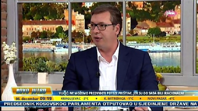 Vučić na Pinku: Radoičić, fašističke Dveri, Maja fuksa, strani agenti, nedovoljno pametni Haradinaj, Tači pored Merkelove, bla, bla, truć...