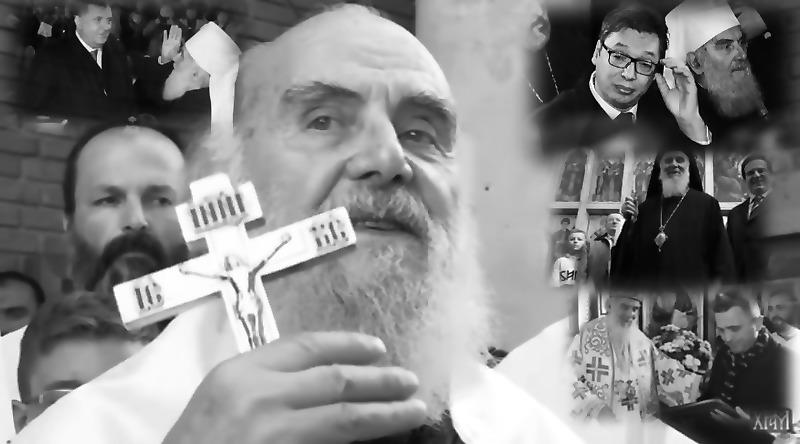 RADOJKO: Vučić je kupio blanko podršku direktora SRPSKOG PRAVOSLAVNOG PREDUZEĆA Irineja, i promenio deset Božjih zapovesti