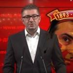 Hristijan Mickoski: Ovo je izdaja Makedonije!