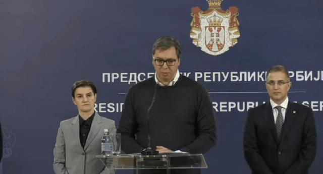 Vučić nakon sednice Saveta za nacionalnu bezbednost: Pregazićemo kriminalce! Doživatne kazne zatvora za one koji su počinali najteža krivična dela. (VIDEO)