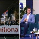 """""""1 od 5 miliona"""": """"Vučiću, kao što kaže pesma tvoje omiljene umetnice idi dok si mlad!"""""""