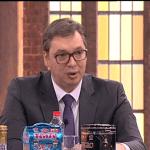 Vučić: Državni vrh Srbije je teškoj situaciji dok kruže lažne vesti, kako mi tamo sedimo, lepo jedemo, pijemo…