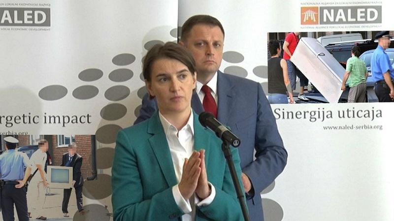 Nove muke za građane Srbije: NALED, mezimče Ane Brnabić, traži da privatni izvršitelji uteruju i poreze