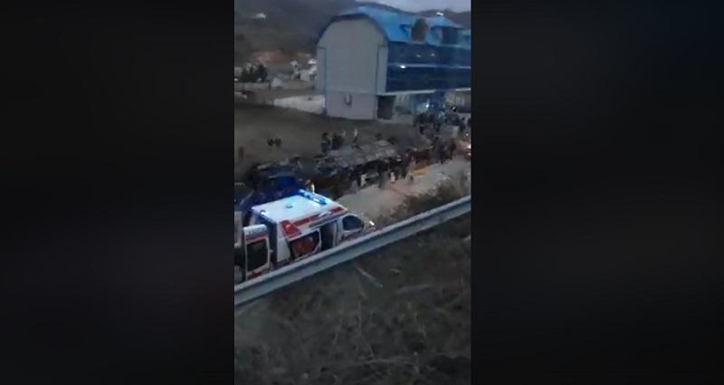 Stravična nesreća u Makedoniji, 13 mrtvih