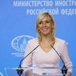 Zaharova: Tajni dogovor o priznanju nezavisnosti neozbiljna priča