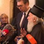 Državni vrh s patrijarhom: Bitno je da imamo isto mišljenje