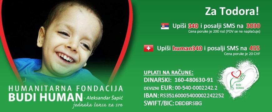 Transplatacija malom Todoru je zakazana za april, nije skupljeno dovoljno novca! Todor ne sme da čeka! BUDI HUMAN