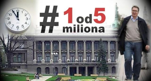 Obradović: U nedelju u 5 do 12 svi na konferenciju za novinare Aleksandra Vučića, u Predsedništvu Srbije