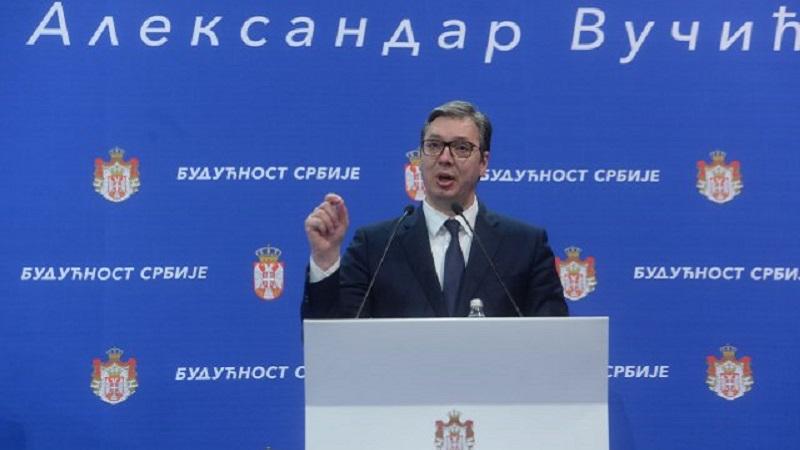 Vučić stigao u Predsedništvo, obraćanje u podne